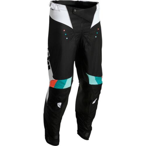 Thor Pulse React Motocross Nadrág (Fehér-fekete)