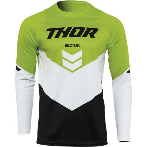 Thor Sector Chev Cross Mez (Fekete-zöld)