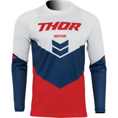 Thor Sector Chev Cross Mez (Piros-navy)