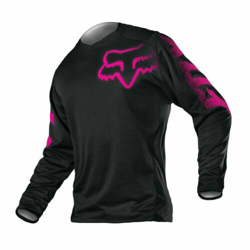 Fox Blackout Női Motocross Mez (Fekete-Pink)