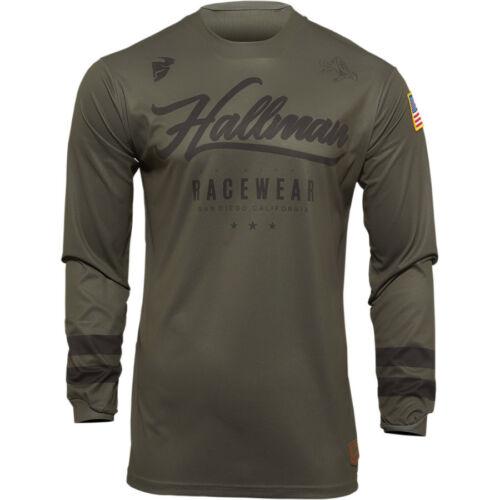 Thor Hallman S22 Motocross Mez (Army)