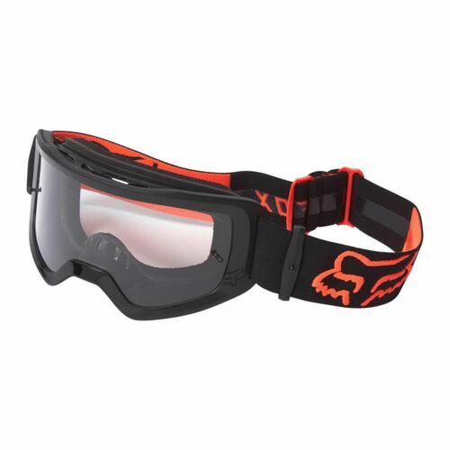 Fox Main Stray MX Szemüveg (Fekete-Narancs)