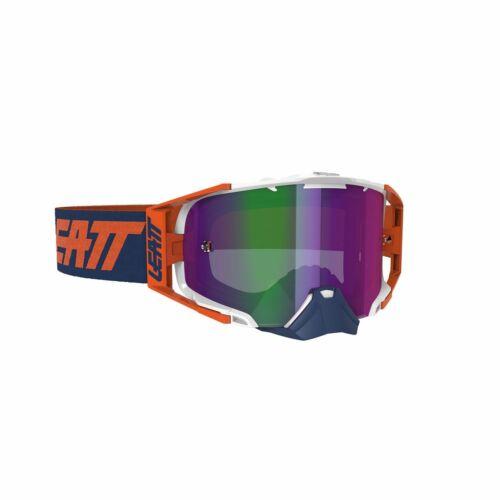 Leatt Velocity 6.5 Iriz Motocross Szemüveg (Narancs)