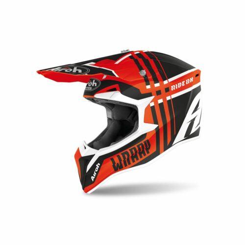 Airoh MX Wraap Broken Motocross Bukósisak