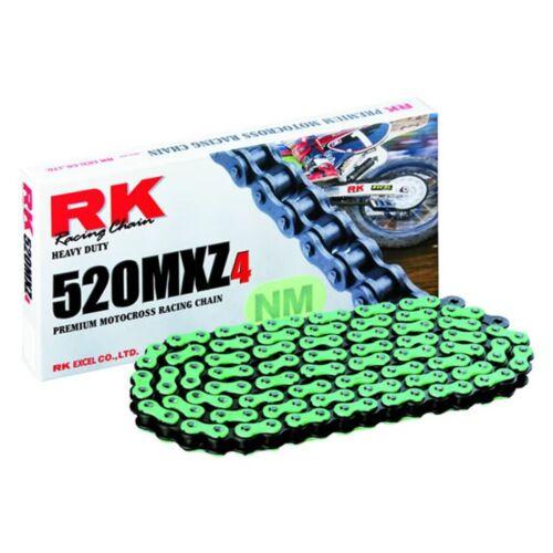 RK 520MXZ Színes Motocross és Enduro Lánc (Zöld)