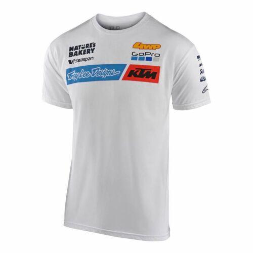 TLD Team KTM Rövid Ujjú Póló 2020 (Fehér)