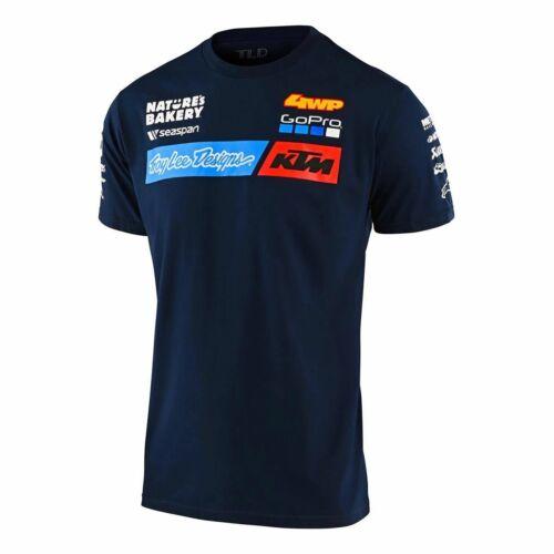 TLD Team KTM Rövid Ujjú Póló 2020 (Navy)