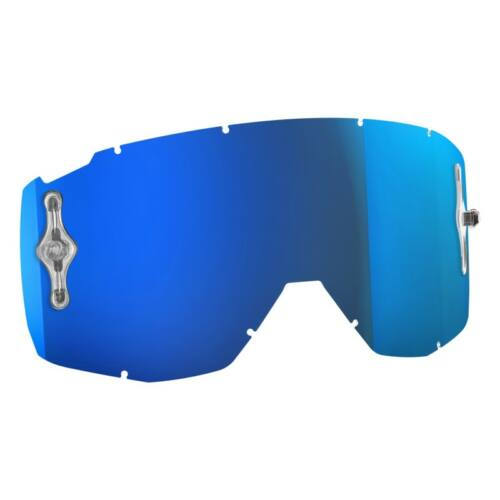 Scott Hustle Tükrös Lexan Szemüveglencse (Electric Blue)