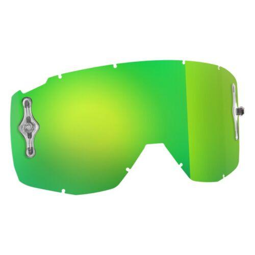Scott Hustle / Tyrant Dupla Szemüveglencse (Zöld tükrös)