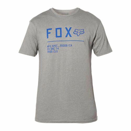 Fox Racing Non Stop Premium Póló (Kék-Szürke)