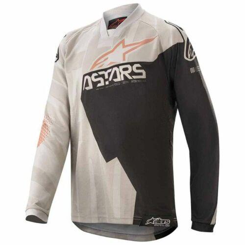 Alpinestars Racer Factory Gyerek MX Mez (Gray-Black-Rust)