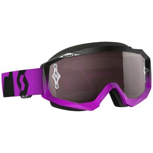 Scott Hustle Oxide Purple Motocross Szemüveg