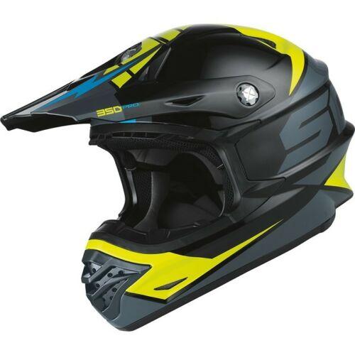 Scott 350 Pro Podium Bukósisak (Fekete-Zöld)