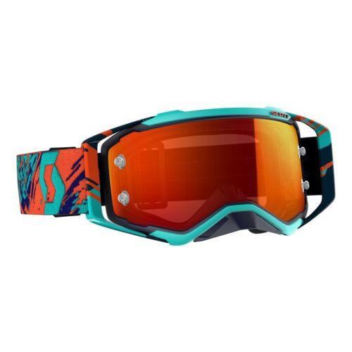 Scott Prospect Motocross Szemüveg (Kék-Narancs)