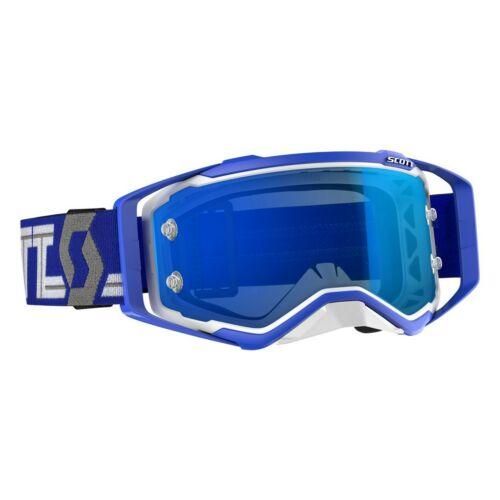 Scott Prospect Motocross Szemüveg (Kék-Fehér)