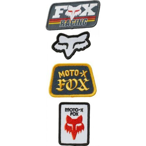 Fox Race Day Vasalható Felvarró Matrica