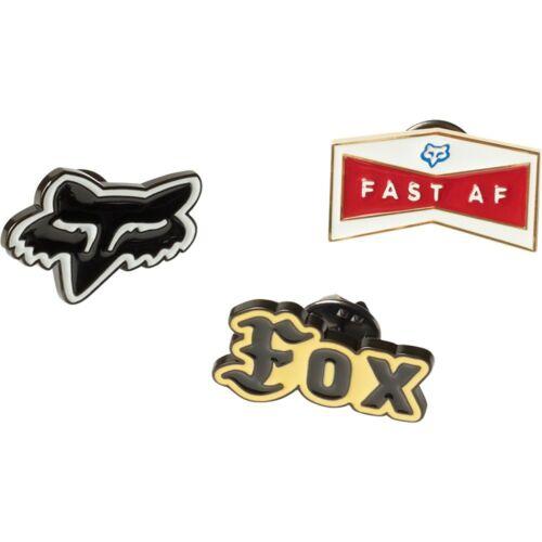 Fox Flat Track Kitűző