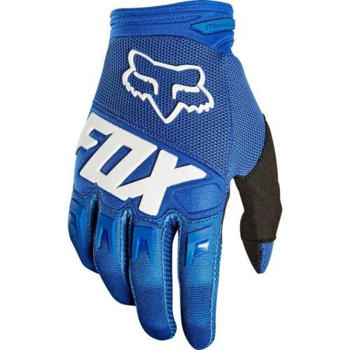 Fox Dirtpaw Race Gyerek Motocross Kesztyű (Kék)