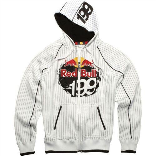 Fox Red Bull Travis Pastrana Kapucnis Pulóver (Fehér)