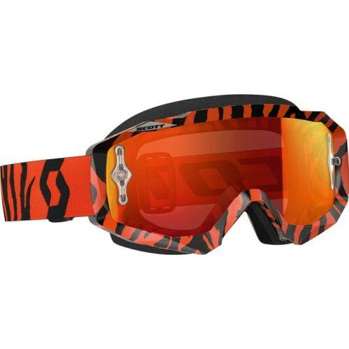 Scott Hustle Orange Fluo Szemüveg (Tükrös lencsével)