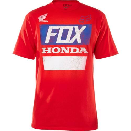Fox Honda Distressed Rövid Ujjú Póló