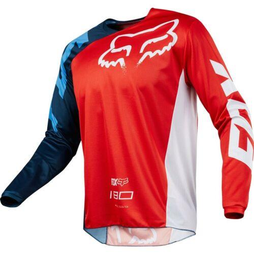 Fox 180 Race Motocross Mez (Piros)