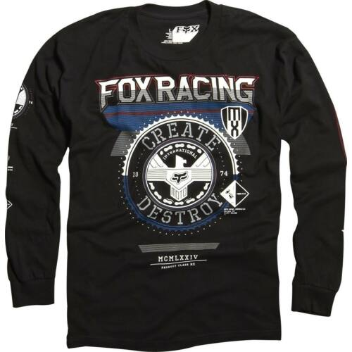 Fox Infinite Speed Hosszú Ujjú Póló (fekete)