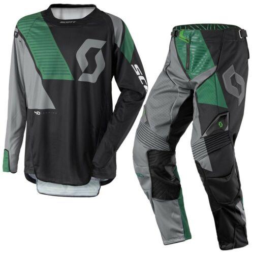 Scott 450 Podium Motocross Ruhaszett (Zöld-Fekete)