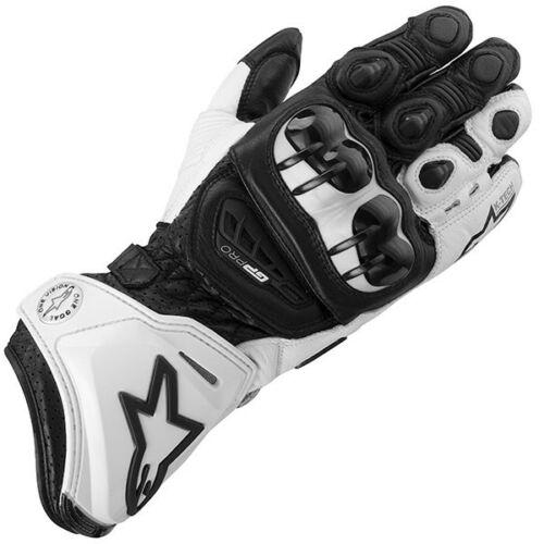 Alpinestars GP Pro Motoros Bőrkesztyű (Fekete-fehér)