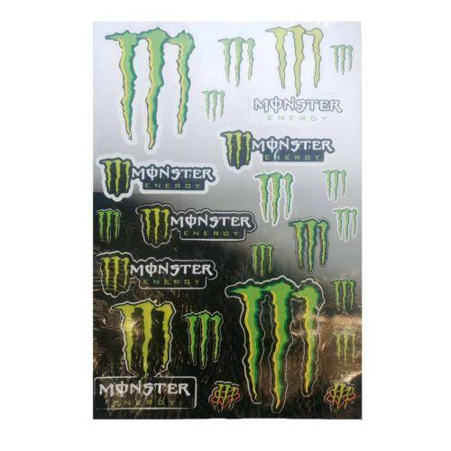 Fox Monster Energy Track Pack Matricaszett