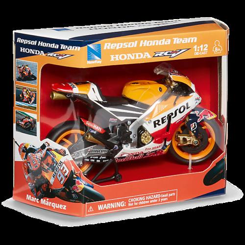 Repsol Honda Team Marc Marquez MotoGP Makett (1:12)