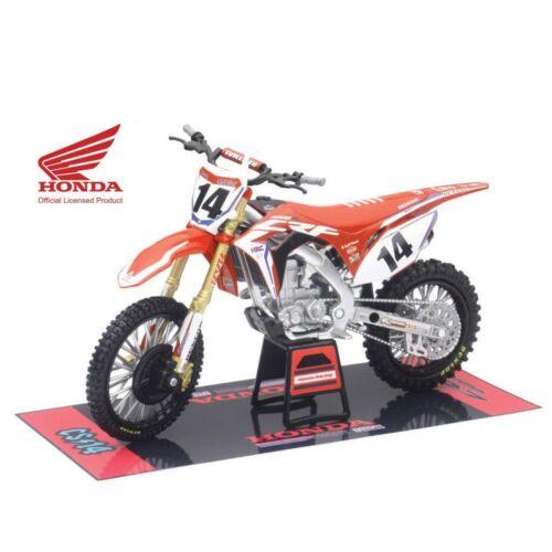 Honda CRF450R Cole Seely Makett (1:12)