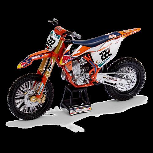 KTM 450SX-F Tony Cairoli #222 Makett (1:12)