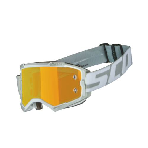 Scott Fury Motocross Szemüveg (Fehér-szürke)