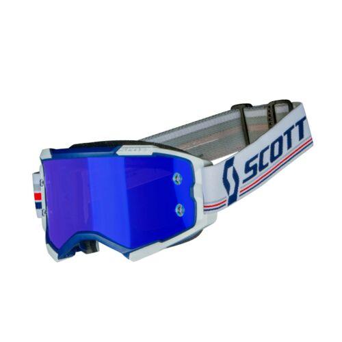 Scott Fury Motocross Szemüveg (Kék-fehér)