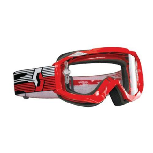 Scott MX Hustle Motocross Szemüveg (Piros)