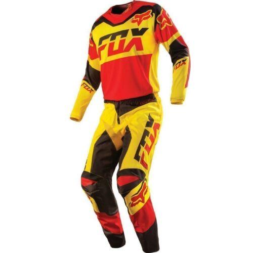 Fox 180 Mako Motocross Ruhaszett (Sárga)