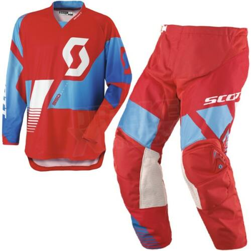 Scott 350 race Motocross Ruhaszett (Piros)