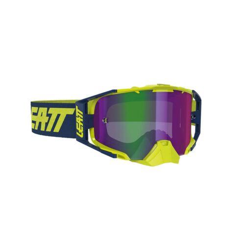 Leatt Velocity 6.5 Iriz Motocross Szemüveg (Lime)