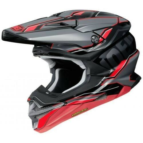 Shoei VFX-WR Allegiant Motocross Bukósisak (Piros)