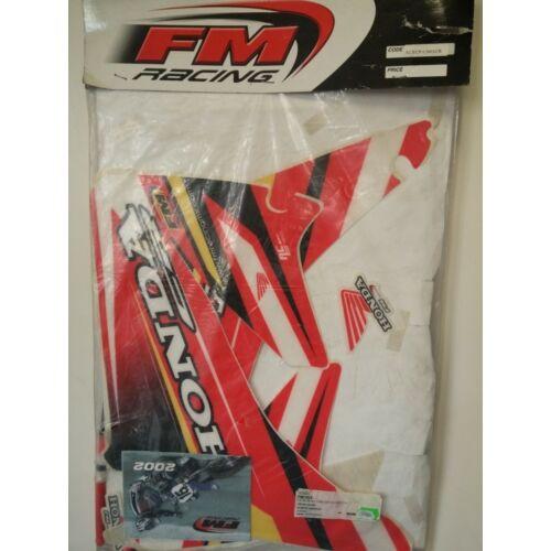 FM Racing Honda CR Dekor Kit Üléshuzattal