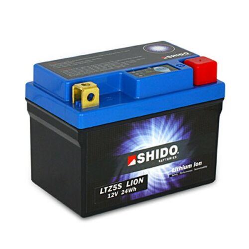 Shido LI-ION motor akkumulátor - LTZ5-S